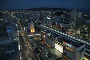 葵タワー夜景