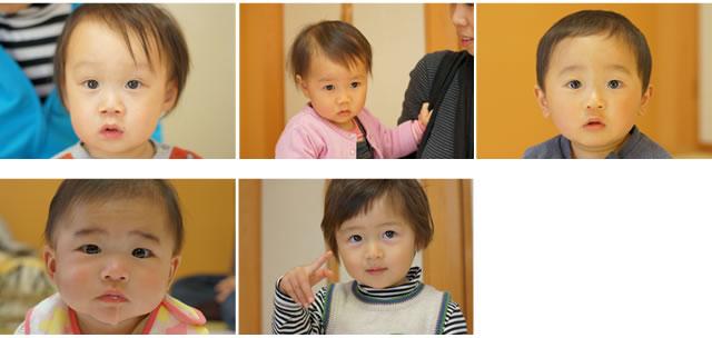 子供の写真のサンプル